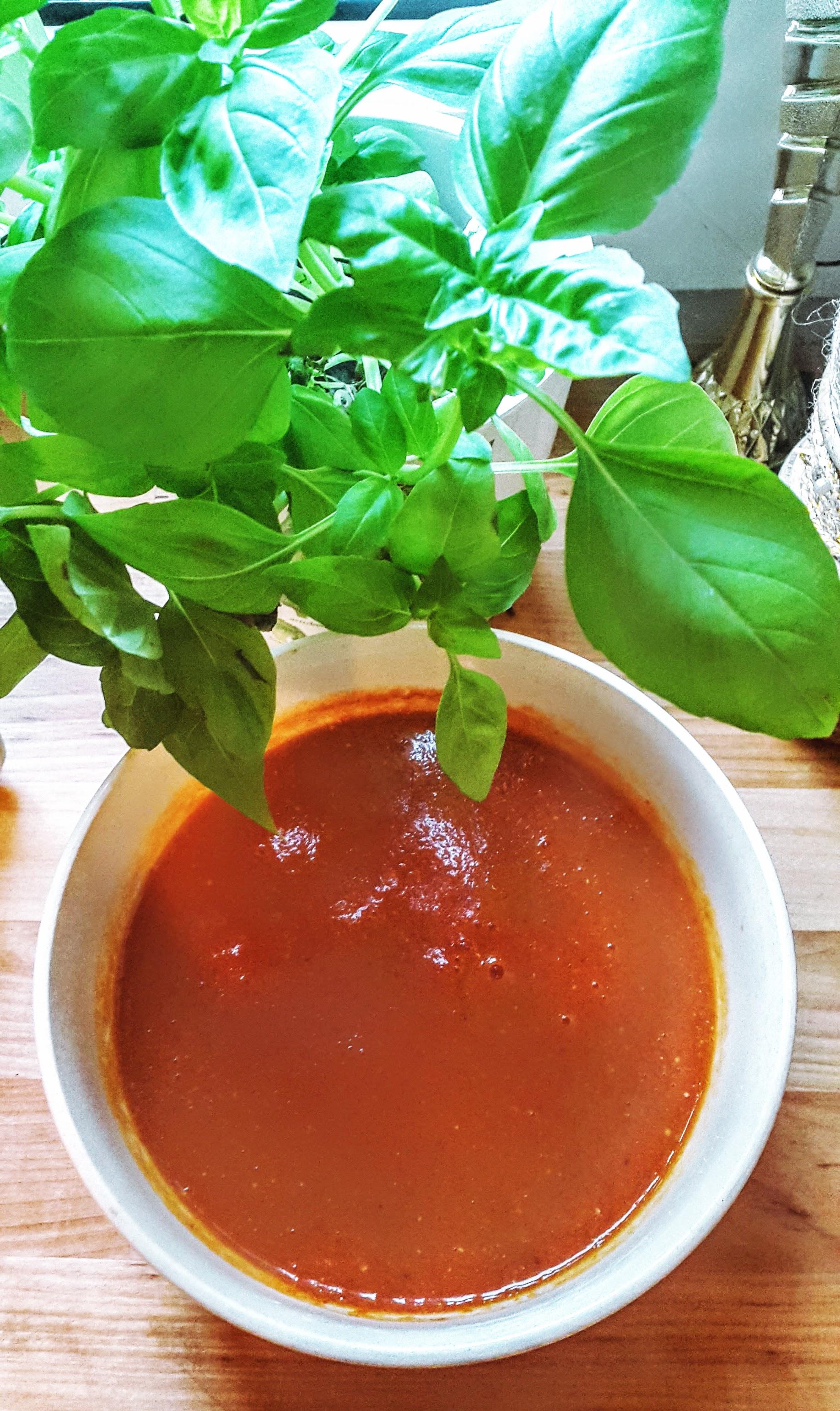 Krem zpomidorów naciepło izimno