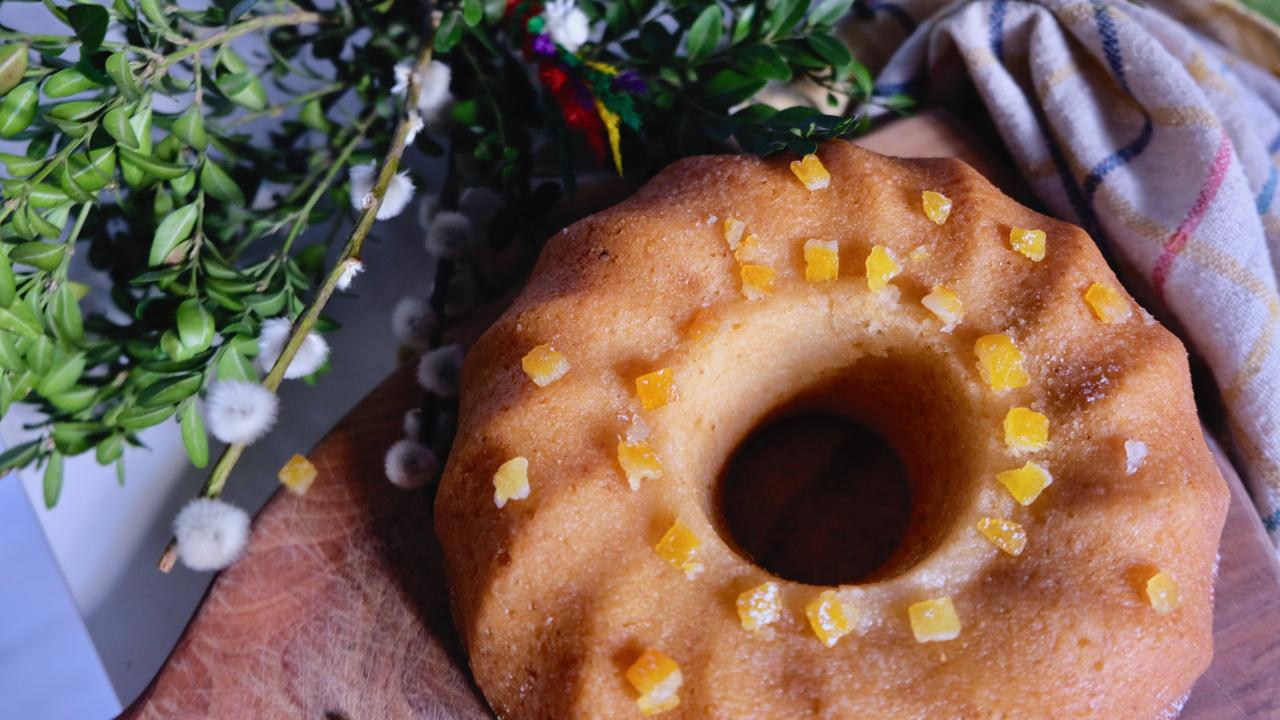 Cytrynowa babka piaskowa idealnie soczysta ikwaskowa