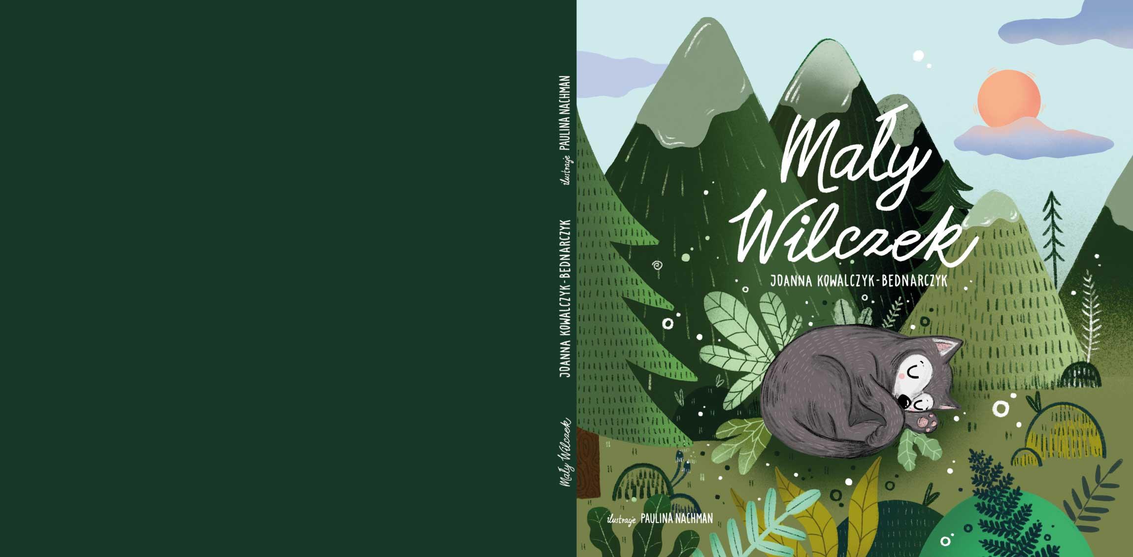 """""""Mały Wilczek"""" – moja pierwsza książka"""